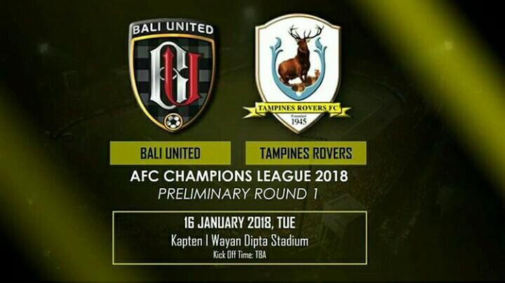 Afc Champions League Bali United Vs Tampines Rovers Bali Go Live