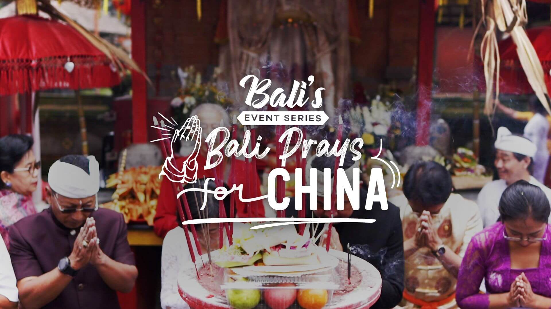 bali prays for china from corona virus