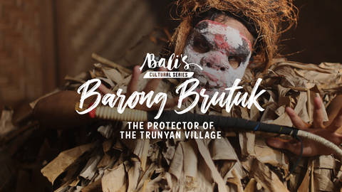 Barong Brutuk The Protector of the Trunyan Village