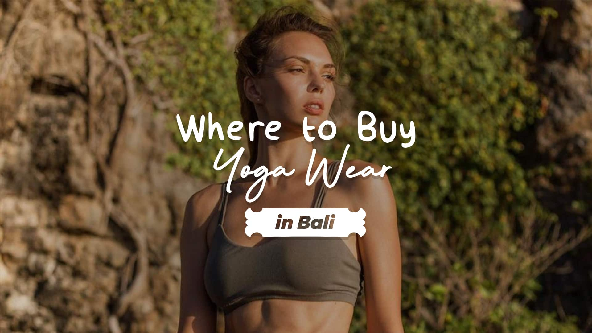 where to buy yoga wear in bali