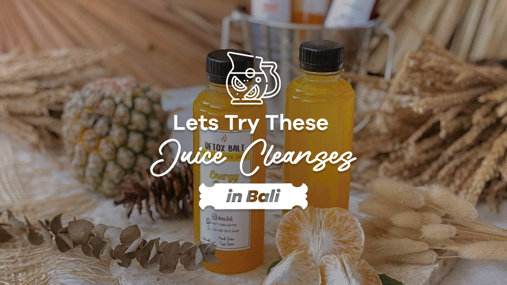 juice cleanses in Bali