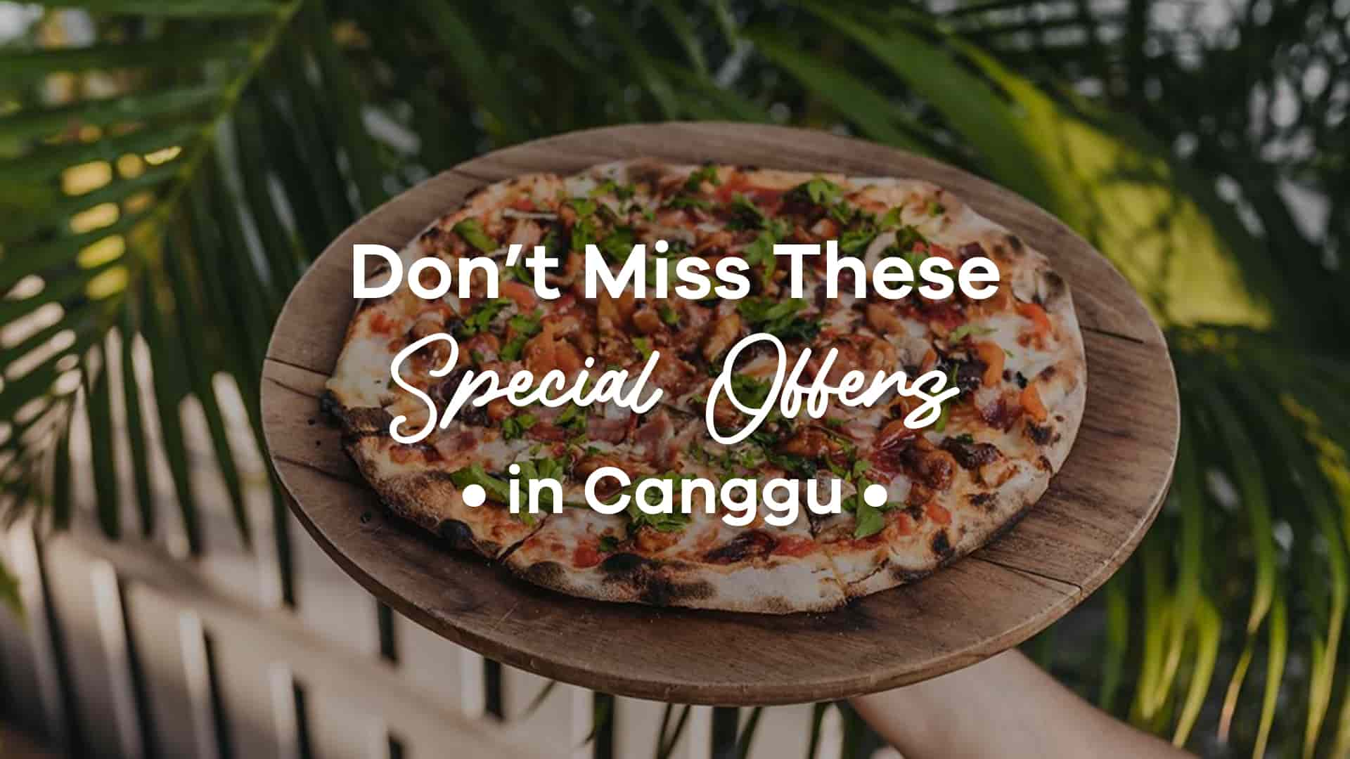 Don't Miss These Special Offers in Canggu