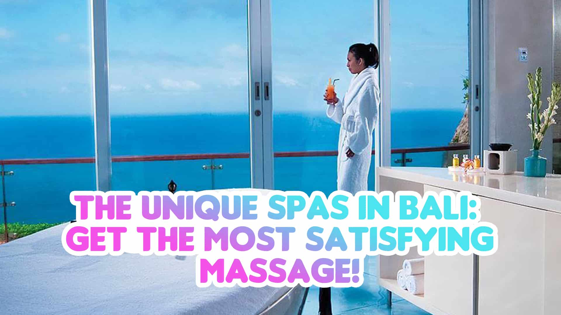 unique spas in bali